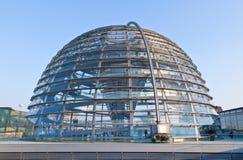 Edificio de Reichstag en Berlín fotografía de archivo