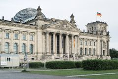 Edificio de Reichstag en Berlín, Alemania Fotografía de archivo