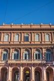 Edificio de Rosada de la casa en Buenos Aires, la Argentina. Foto de archivo libre de regalías