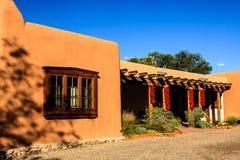 Edificio de Santa Fe Fotografía de archivo libre de regalías