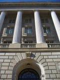 Edificio de servicio de la renta pública imágenes de archivo libres de regalías