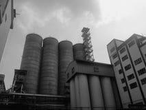 Edificio de Silo Fotos de archivo libres de regalías
