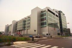 Edificio de Sky Italia Imagen de archivo libre de regalías