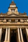 Edificio de Sydney Town Hall, Australia Fotografía de archivo libre de regalías