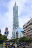 Edificio de Taipei 101 Imagen de archivo libre de regalías