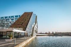 Edificio de 8 Tallet en Vestamager/Copenhague foto de archivo libre de regalías
