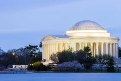 Edificio de Thomas Jefferson Memorial Imagenes de archivo