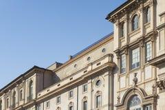 Edificio de Tipycal en Roma Imágenes de archivo libres de regalías