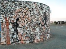 Edificio de Townsville Queensland en la colina del cartón Fotos de archivo