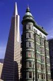 Edificio de Transamerica Imagen de archivo