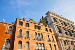 Edificio de Venecia Imágenes de archivo libres de regalías