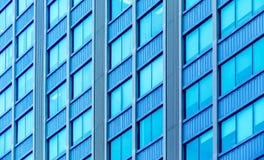 Edificio de Windows imagen de archivo