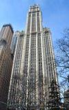 Edificio de Woolworth, NYC Foto de archivo libre de regalías