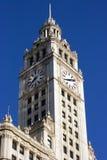 Edificio de Wrigley en Chicago fotos de archivo libres de regalías
