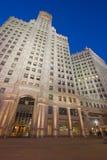 Edificio de Wrigley en Chicago imágenes de archivo libres de regalías