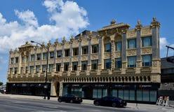 Edificio dei quartieri alti di Broadway fotografia stock