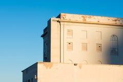 Edificio del abandono Imagen de archivo