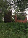 Edificio del abandono Fotos de archivo libres de regalías