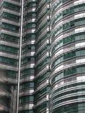 Edificio del acero inoxidable Imágenes de archivo libres de regalías
