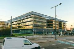 Edificio del administratoin magnífico del Est en Estrasburgo, Francia Fotos de archivo