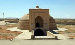 Edificio del agua en Uzbekistán Imagen de archivo libre de regalías