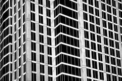 Edificio del ALTO contraste Imágenes de archivo libres de regalías