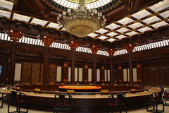 Edificio del APEC en China Fotos de archivo