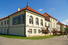 Edificio del arsenal en Varsovia, Polonia Foto de archivo libre de regalías