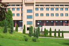 Edificio del asunto imagen de archivo libre de regalías