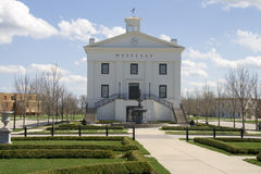 Edificio del ayuntamiento Imagen de archivo libre de regalías