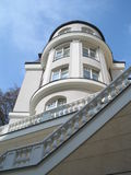 Edificio del balneario Imagen de archivo
