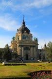 Edificio del balneario de Szechenyi Imagenes de archivo