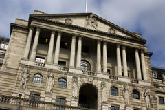 Edificio del Banco de Inglaterra Imagen de archivo libre de regalías