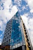 Edificio del bloque de apartamentos Foto de archivo