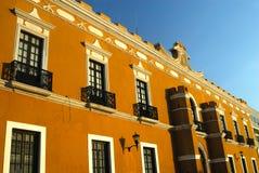Edificio del Campeche Fotografie Stock Libere da Diritti