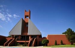 Edificio del campus Imagen de archivo libre de regalías