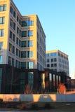 Edificio del campus fotografía de archivo
