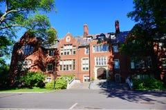 Edificio del campus de la universidad del Mt Holyoke Imagen de archivo