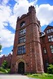 Edificio del campus de la universidad del Mt Holyoke Foto de archivo