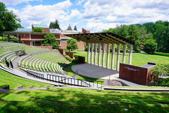 Edificio del campus de la universidad del Mt Holyoke Imagen de archivo libre de regalías