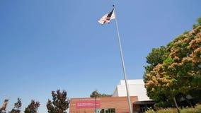 Edificio del campus de las ciencias de la salud de la Universidad de California del Sur almacen de video