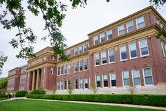 Edificio del campus de UIUC Imagenes de archivo