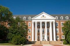 Edificio del campus universitario fotografía de archivo