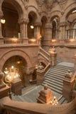 Edificio del capitolio de Albany Imagen de archivo libre de regalías