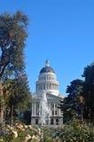 Edificio del capitolio de California Fotos de archivo libres de regalías