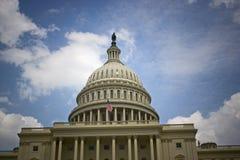 Edificio del capitolio de Estados Unidos Fotos de archivo