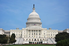 Edificio del capitolio de Estados Unidos Foto de archivo libre de regalías