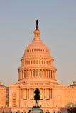 Edificio del capitolio de Estados Unidos fotografía de archivo