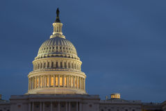 Edificio del capitolio de Estados Unidos Imagen de archivo libre de regalías