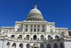 Edificio del capitolio de Estados Unidos, en Capitol Hill en Washington DC foto de archivo